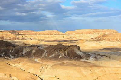Negev Desert  Art Print