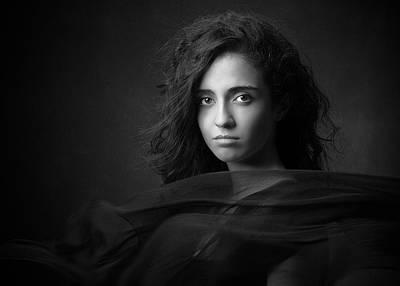 Face Wall Art - Photograph - Negin by Mehdi Mokhtari