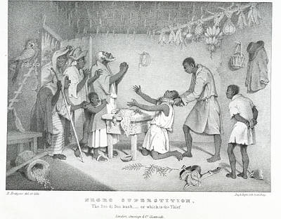 Negro Superstition Print by British Library