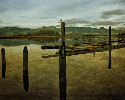Nehalem Bay Reflections Art Print
