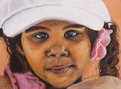 Painting - Neighbor Girl by Jeanne Fischer