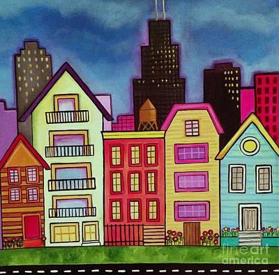 Painting - Neighborhood by Carla Bank