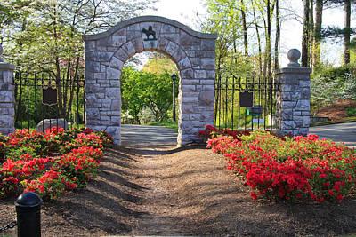 Photograph - Neighborhood Entrance by Melinda Fawver