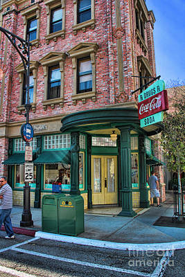 Photograph - Neighborhood Pharmacy by Lee Dos Santos