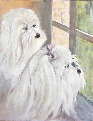 Painting - Neighborhood Watch by Maureen Pisano
