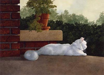 Neighborhood Watch Art Print by Tom Wooldridge