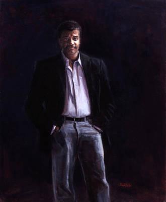 Neil Degrasse Tyson Painting - Neil Degrasse Tyson by Sarah Yuster