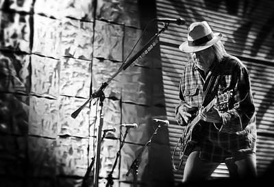 Neil Young Live In Concert Art Print by Jennifer Rondinelli Reilly - Fine Art Photography
