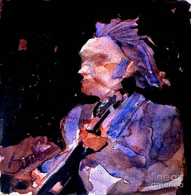 Neil Young Painting - Neil Young by Sandra Stone