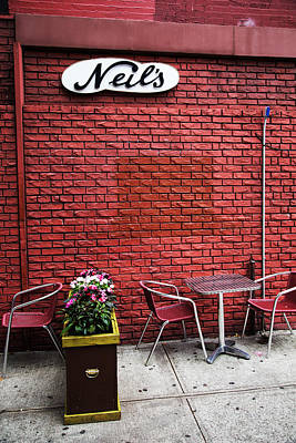 Photograph - Neils by Karol Livote