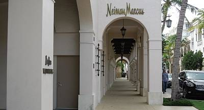 Photograph - Neiman Marcus Worth Avenue by Ron Davidson