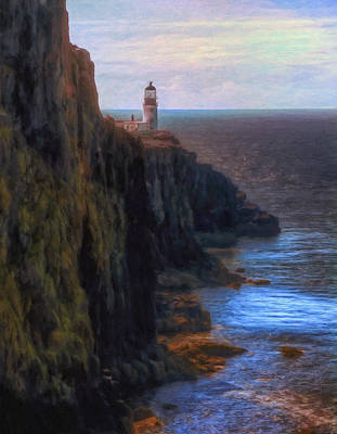 Scotland Painting - Neist Point Lighthouse by Michael Pickett