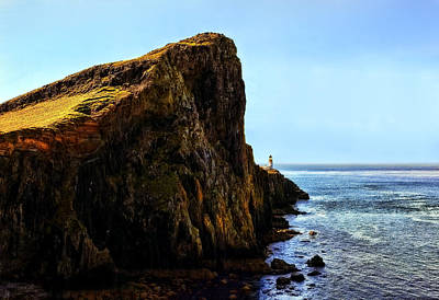 Water Photograph - Neist Point by Marcia Colelli
