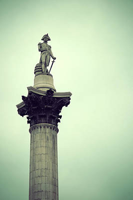 Photograph - Nelson Column by Songquan Deng
