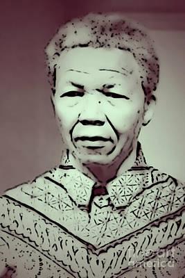 Photograph - Mandela by Paulo Guimaraes