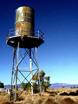 Nelson Studio  Color - Lucerne Valley Art Print by Glenn McCarthy Art and Photography