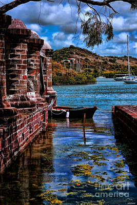 Nelson's Dockyard Antigua Art Print by Tom Prendergast