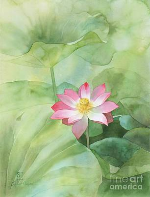 Painting - Nelumbo by Robert Hooper