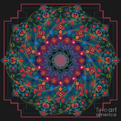 Digital Art - Nemetona 2013 by Kathryn Strick