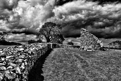 Photograph - Nendrum Monastic Site by Jim Orr