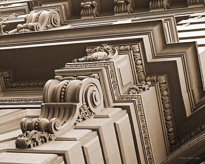 Photograph - Neo-classical Architecture by Connie Fox