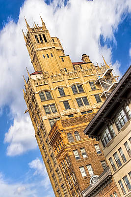 Photograph - Neo-gothic Jackson Building In The Heart Of Asheville by Mark E Tisdale