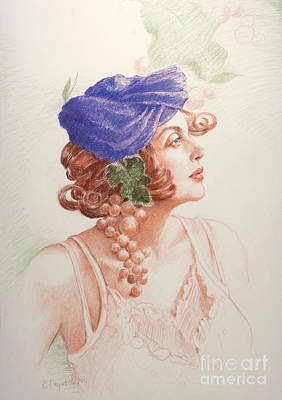 Drawing - Neoclassic 2 by Kathryn Donatelli