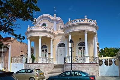 Photograph - Neoclassical Architecture Of Ponce by Ricardo J Ruiz de Porras
