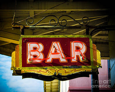 Neon Bar Original by Perry Webster