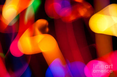 Photograph - Neon Curves by Anthony Sacco