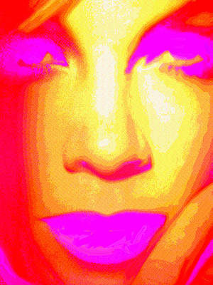Digital Art - Neon by Dennis Buckman