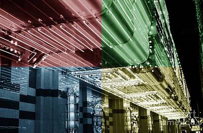 Photograph - Neon Fusion by John Rizzuto