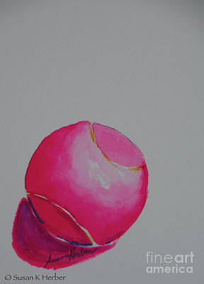 Painting - Neon Pink by Susan Herber