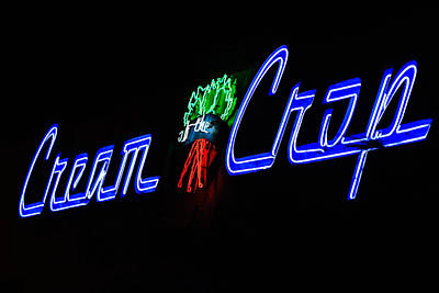 Photograph - Neon Sign - Cream Of The Crop by Ben Graham