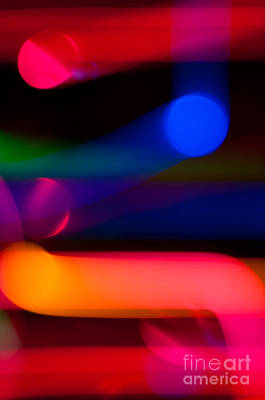 Photograph - Neon Tubes II by Anthony Sacco