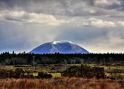 Photograph - Nephin With A Cap by Tony Reddington