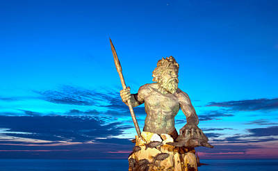 Neptune At Blue Hour Art Print