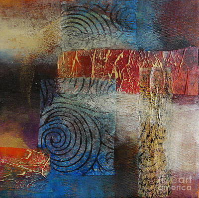 Mix Medium Mixed Media - Neptune by Melody Cleary