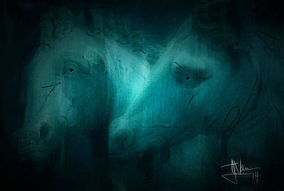 Photograph - Neptune Ponies by Jim Vance