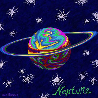 Painting - Neptune Ss by Robert SORENSEN