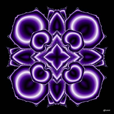 Digital Art - Neptune Turbinate 7 by Brian Johnson
