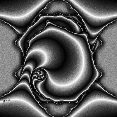 Digital Art - Neptune Turbinate Tile Print 2 by Brian Johnson