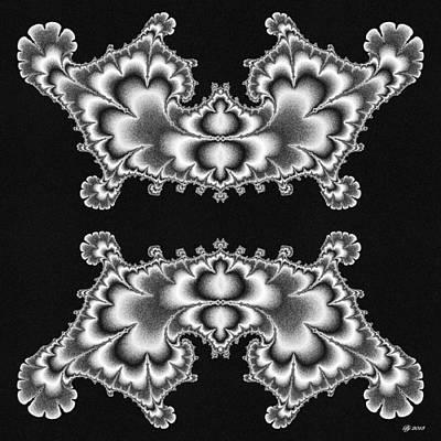 Digital Art - Neptune Turbinate Tile Print 7 by Brian Johnson
