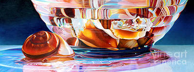 Painting - Neptune's Bounty by Arlene Steinberg