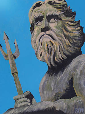 Painting - Neptune's Watch by Paul Moss