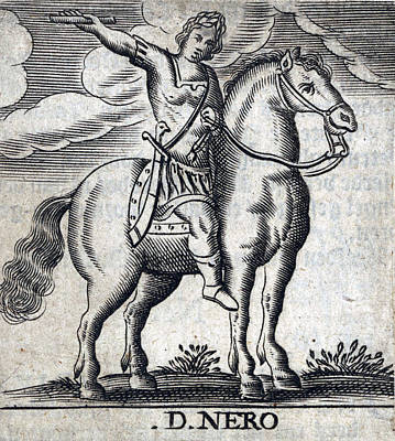 Caesar Augustus Photograph - Nero, 5th Emperor Of Rome by Folger Shakespeare Library