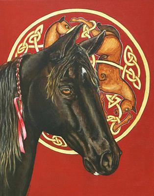 Nero Art Print by Beth Clark-McDonal