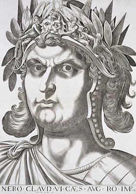 Nero Caesar , 1596 Art Print
