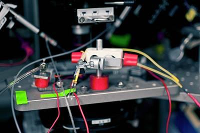 Nerve Stimulator Biosensor Art Print