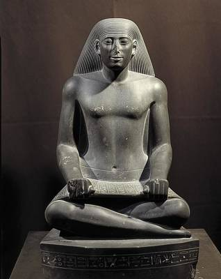Nespekasuti, Scribe Of Karnak. 490 Bc Art Print
